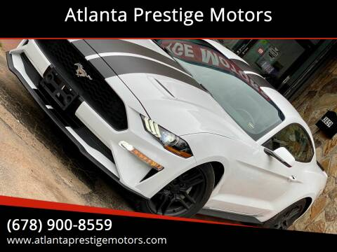 2018 Ford Mustang for sale at Atlanta Prestige Motors in Decatur GA