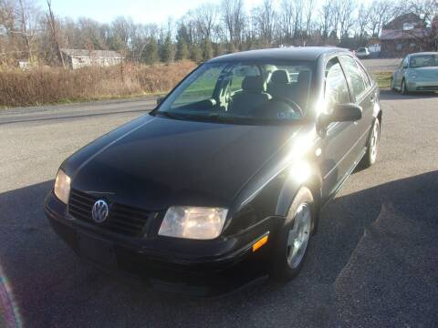2000 Volkswagen Jetta for sale at ULRICH SALES & SVC in Mohnton PA