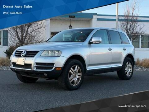 2005 Volkswagen Touareg for sale at Direct Auto Sales in Philadelphia PA