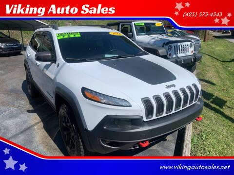 2014 Jeep Cherokee for sale at Viking Auto Sales in Bristol TN