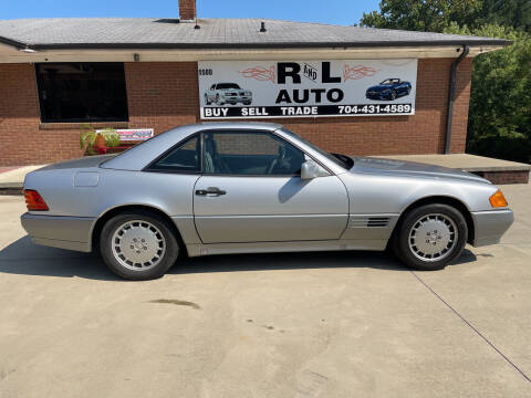 1992 Mercedes-Benz 500-Class for sale at R & L Autos in Salisbury NC