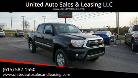 2015 Toyota Tacoma for sale at United Auto Sales & Leasing LLC in La Vergne TN