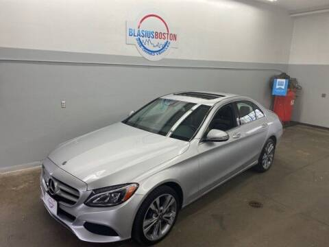 2018 Mercedes-Benz C-Class for sale at WCG Enterprises in Holliston MA