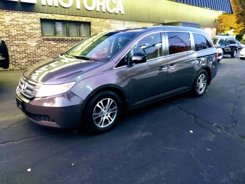 2012 Honda Odyssey for sale at 125 Auto Finance in Haverhill MA