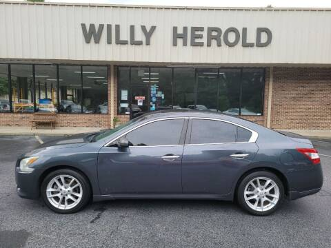 2011 Nissan Maxima for sale at Willy Herold Automotive in Columbus GA