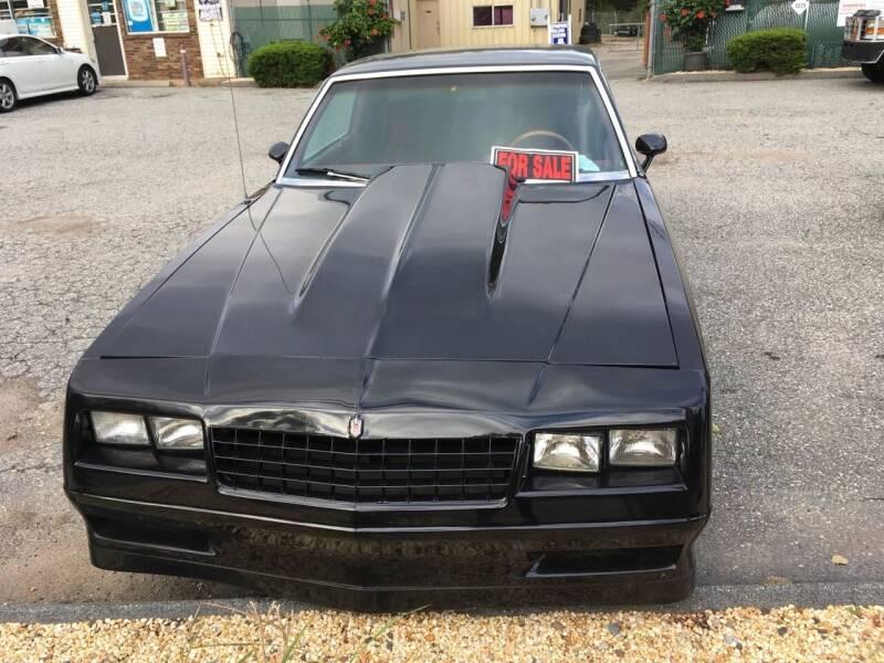 1983 Chevrolet Monte Carlo for sale at Northeast Auto & Truck Inc in Marlborough CT