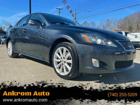 2009 Lexus IS 250 for sale at Ankrom Auto in Cambridge OH