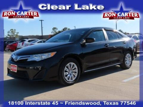 2012 Toyota Camry for sale at Ron Carter  Clear Lake Used Cars in Houston TX