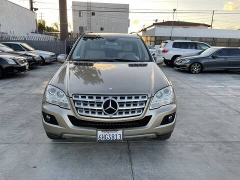 2009 Mercedes-Benz M-Class for sale at Hunter's Auto Inc in North Hollywood CA