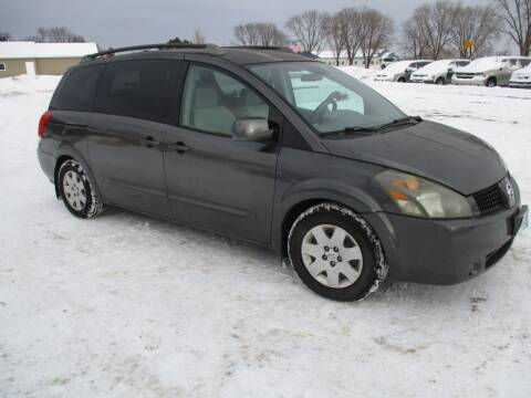 2005 Nissan Quest for sale at D & T AUTO INC in Columbus MN