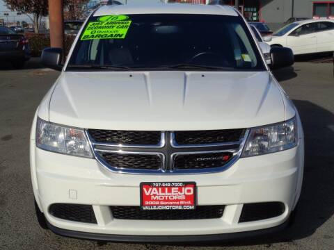2016 Dodge Journey for sale at Vallejo Motors in Vallejo CA