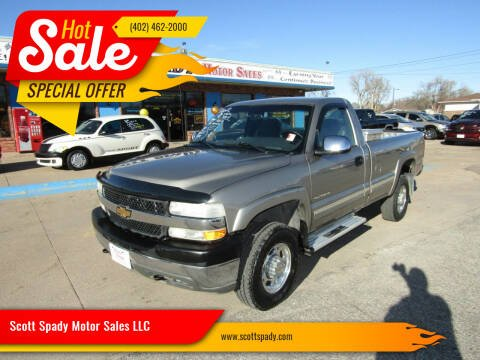 2002 Chevrolet Silverado 2500HD for sale at Scott Spady Motor Sales LLC in Hastings NE