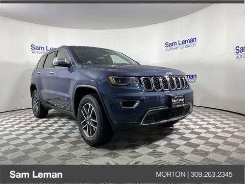 2021 Jeep Grand Cherokee for sale at Sam Leman CDJRF Morton in Morton IL