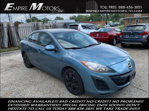 2010 Mazda MAZDA3 for sale at Empire Motors LTD in Cleveland OH