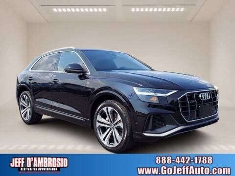 2020 Audi Q8 for sale at Jeff D'Ambrosio Auto Group in Downingtown PA