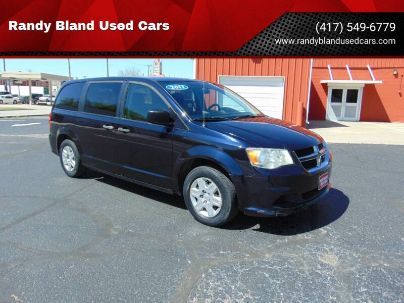 2011 Dodge Grand Caravan for sale at Randy Bland Used Cars in Nevada MO