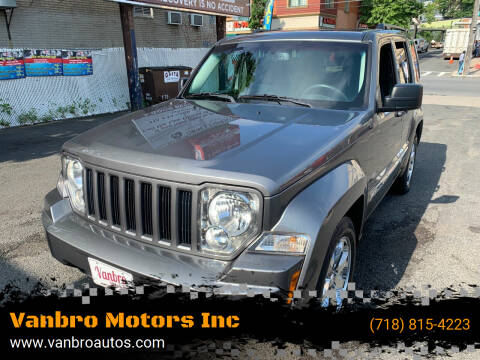 2012 Jeep Liberty for sale at Vanbro Motors Inc in Staten Island NY