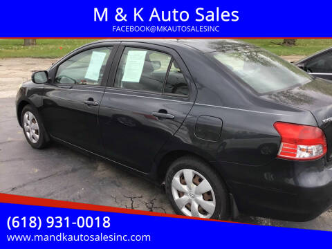 2008 Toyota Yaris for sale at M & K Auto Sales in Granite City IL