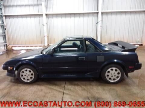 1989 Toyota MR2 for sale at East Coast Auto Source Inc. in Bedford VA