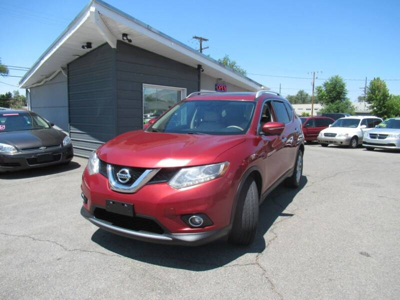 2015 Nissan Rogue for sale at Crown Auto in South Salt Lake UT