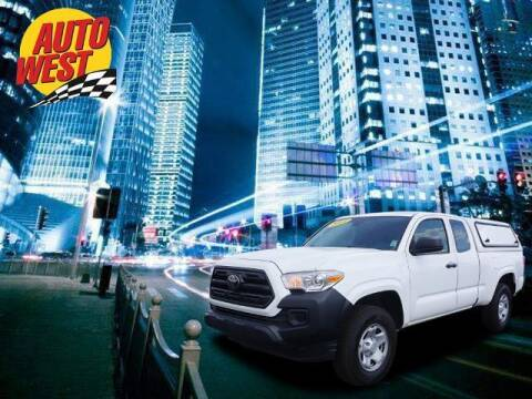 2018 Toyota Tacoma for sale at Autowest of Plainwell in Plainwell MI