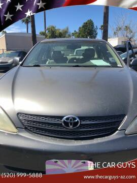 2004 Toyota Camry for sale at The Car Guys in Tucson AZ