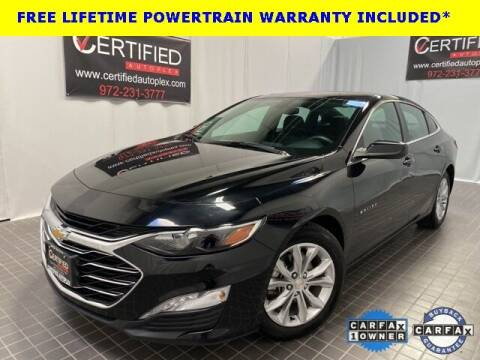 2020 Chevrolet Malibu for sale at CERTIFIED AUTOPLEX INC in Dallas TX