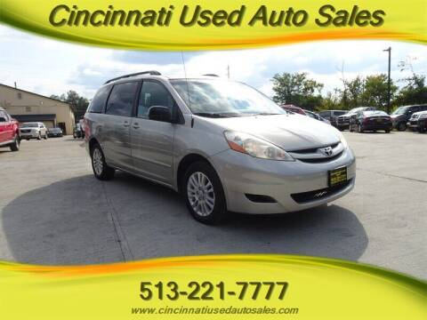 2009 Toyota Sienna for sale at Cincinnati Used Auto Sales in Cincinnati OH