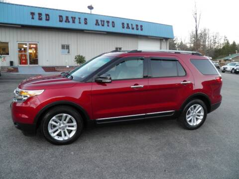 2013 Ford Explorer for sale at Ted Davis Auto Sales in Riverton WV