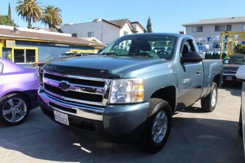 2010 Chevrolet Silverado 1500 for sale at FJ Auto Sales North Hollywood in North Hollywood CA