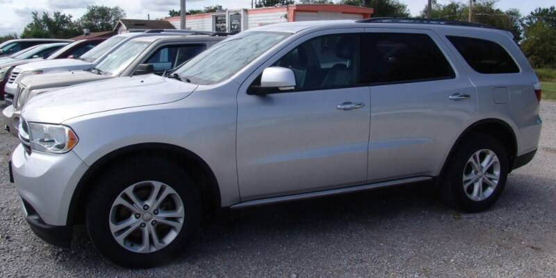 2013 Dodge Durango for sale at Taylor Car Connection in Sedalia MO