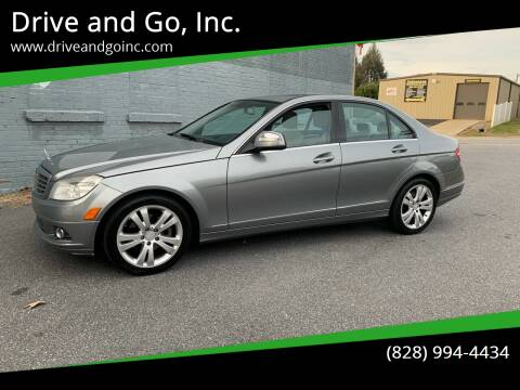 2009 Mercedes-Benz C-Class for sale at Drive and Go, Inc. in Hickory NC