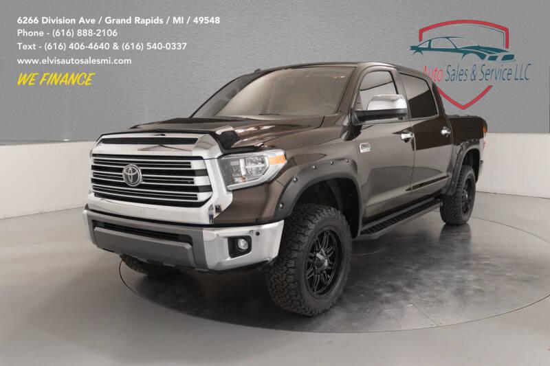 2019 Toyota Tundra for sale at Elvis Auto Sales LLC in Grand Rapids MI