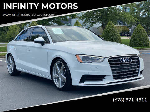 2016 Audi A3 for sale at INFINITY MOTORS in Gainesville GA