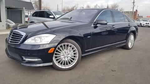 2012 Mercedes-Benz S-Class for sale at LA Motors LLC in Denver CO
