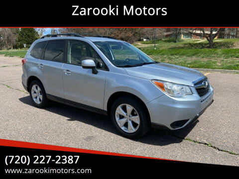 2014 Subaru Forester for sale at Zarooki Motors in Englewood CO