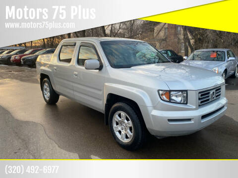 2008 Honda Ridgeline for sale at Motors 75 Plus in Saint Cloud MN