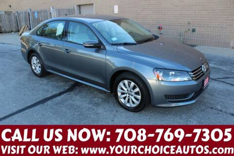 2015 Volkswagen Passat for sale at Your Choice Autos in Posen IL