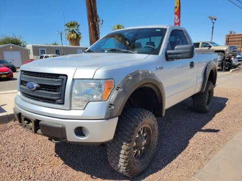 2013 Ford F-150 for sale at A AND A AUTO SALES in Gadsden AZ