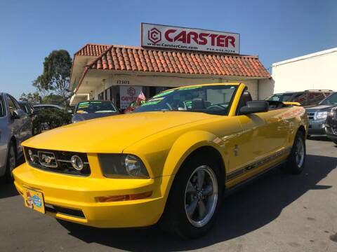 2006 Ford Mustang for sale at CARSTER in Huntington Beach CA