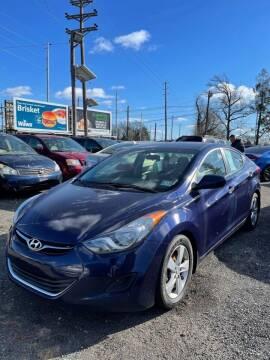 2013 Hyundai Elantra for sale at Hamilton Auto Group Inc in Hamilton Township NJ