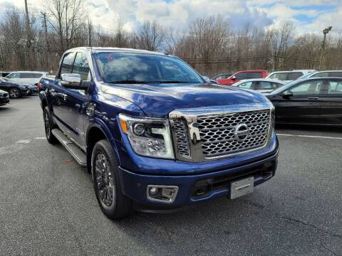 2017 Nissan Titan for sale at AW Auto & Truck Wholesalers  Inc. in Hasbrouck Heights NJ