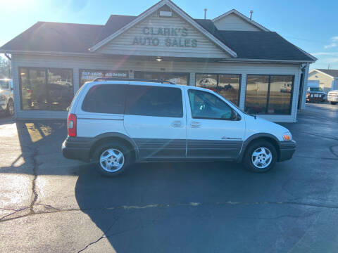 2004 Pontiac Montana for sale at Clarks Auto Sales in Middletown OH