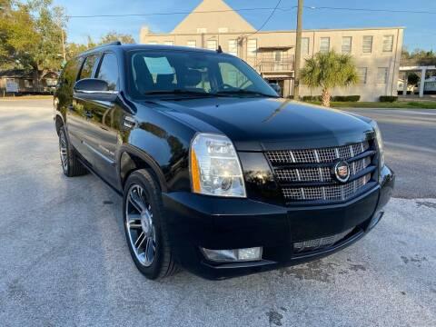 2014 Cadillac Escalade ESV for sale at LUXURY AUTO MALL in Tampa FL