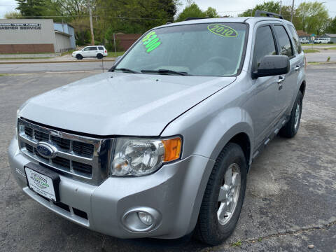 2010 Ford Escape for sale at Rocket Cars Auto Sales LLC in Des Moines IA