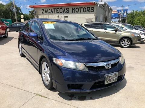 2009 Honda Civic for sale at Zacatecas Motors Corp in Des Moines IA