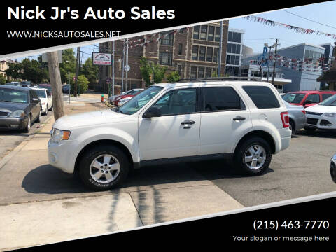 2012 Ford Escape for sale at Nick Jr's Auto Sales in Philadelphia PA