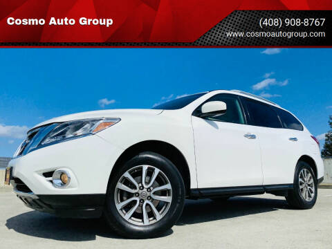 2013 Nissan Pathfinder for sale at Cosmo Auto Group in San Jose CA