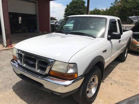 2000 Ford Ranger for sale at Sartins Auto Sales in Dyersburg TN