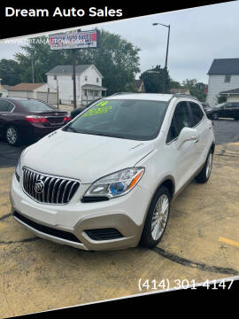2014 Buick Encore for sale at Dream Auto Sales in South Milwaukee WI